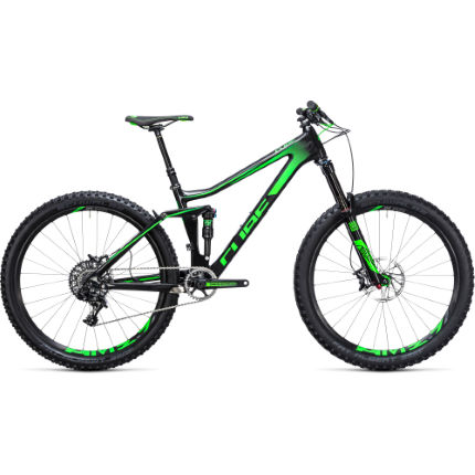 Cube Stereo 140 C:62 27.5 SL Suspension Bike