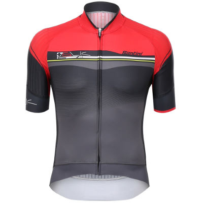 santini-sleek-plus-short-sleeve-jersey-trikots