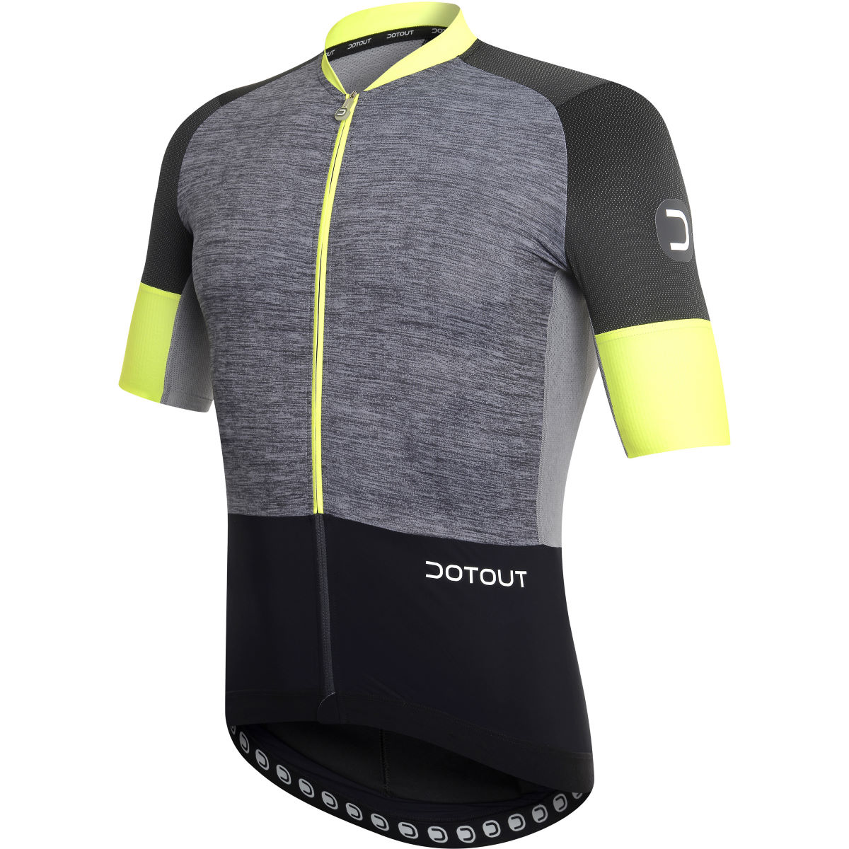 Maillot Dotout Power - XL Black - Yellow