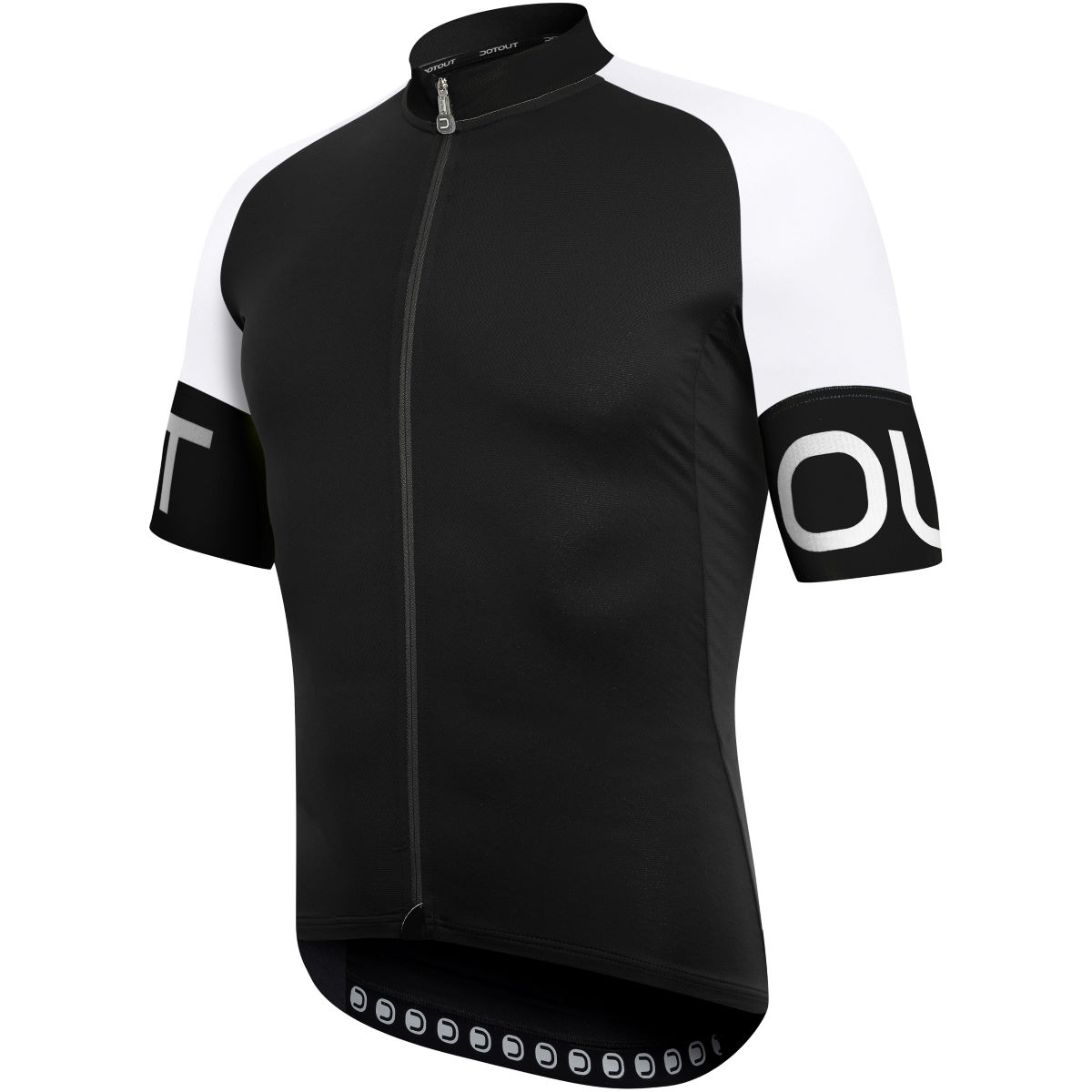 Maillot Dotout Pure - S Black - White Maillots