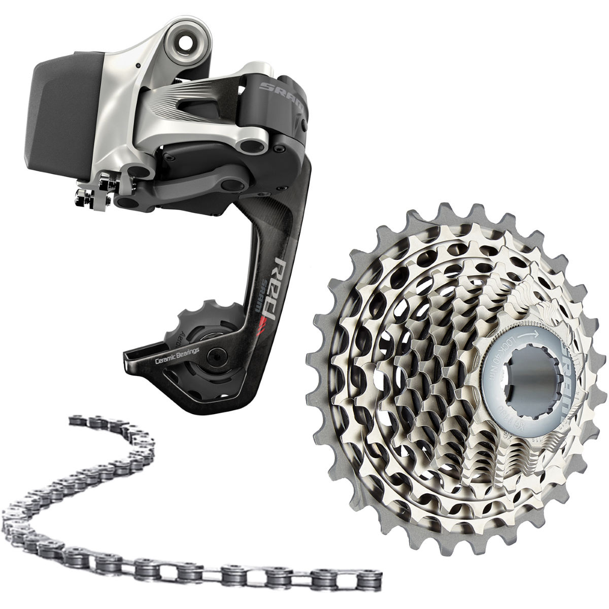 Kit SRAM Red eTap 11sp WIFLI - n/a 11 Speed n/a n/a Black - Red