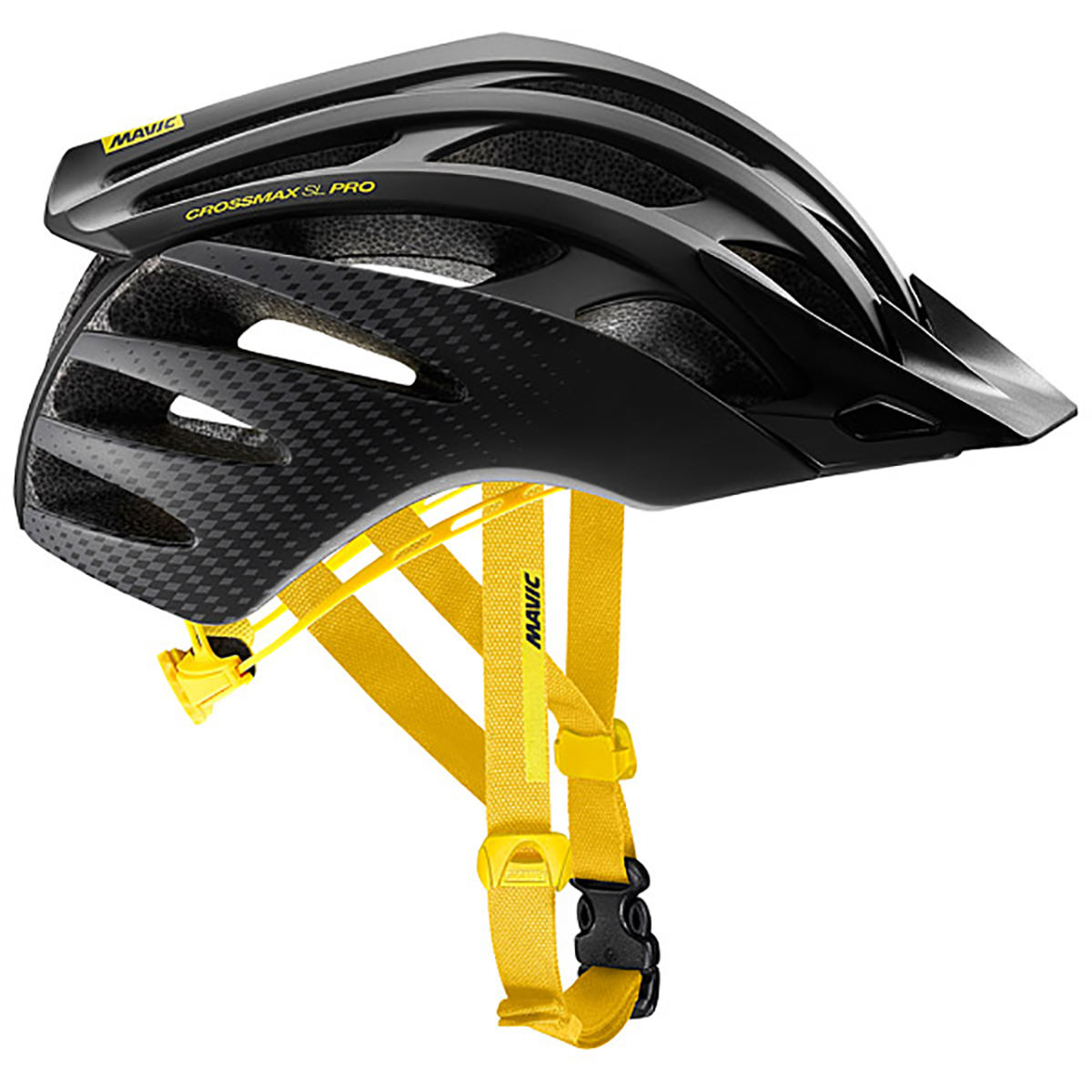 Casque Mavic Crossmax SL Pro - M Black - Yellow Mavic Casques