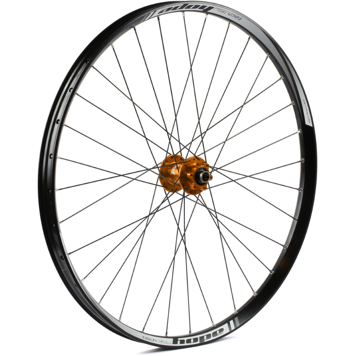 Roue avant VTT Hope Tech 35W Pro 4 - 27.5+'' n/a QR/15x100 Orange