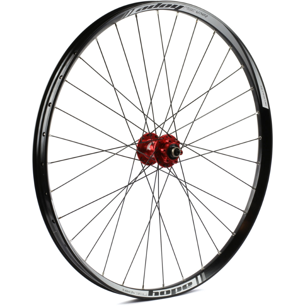 Roue avant VTT Hope Tech 35W Pro 4 - 27.5+'' n/a 15x110mm Orange