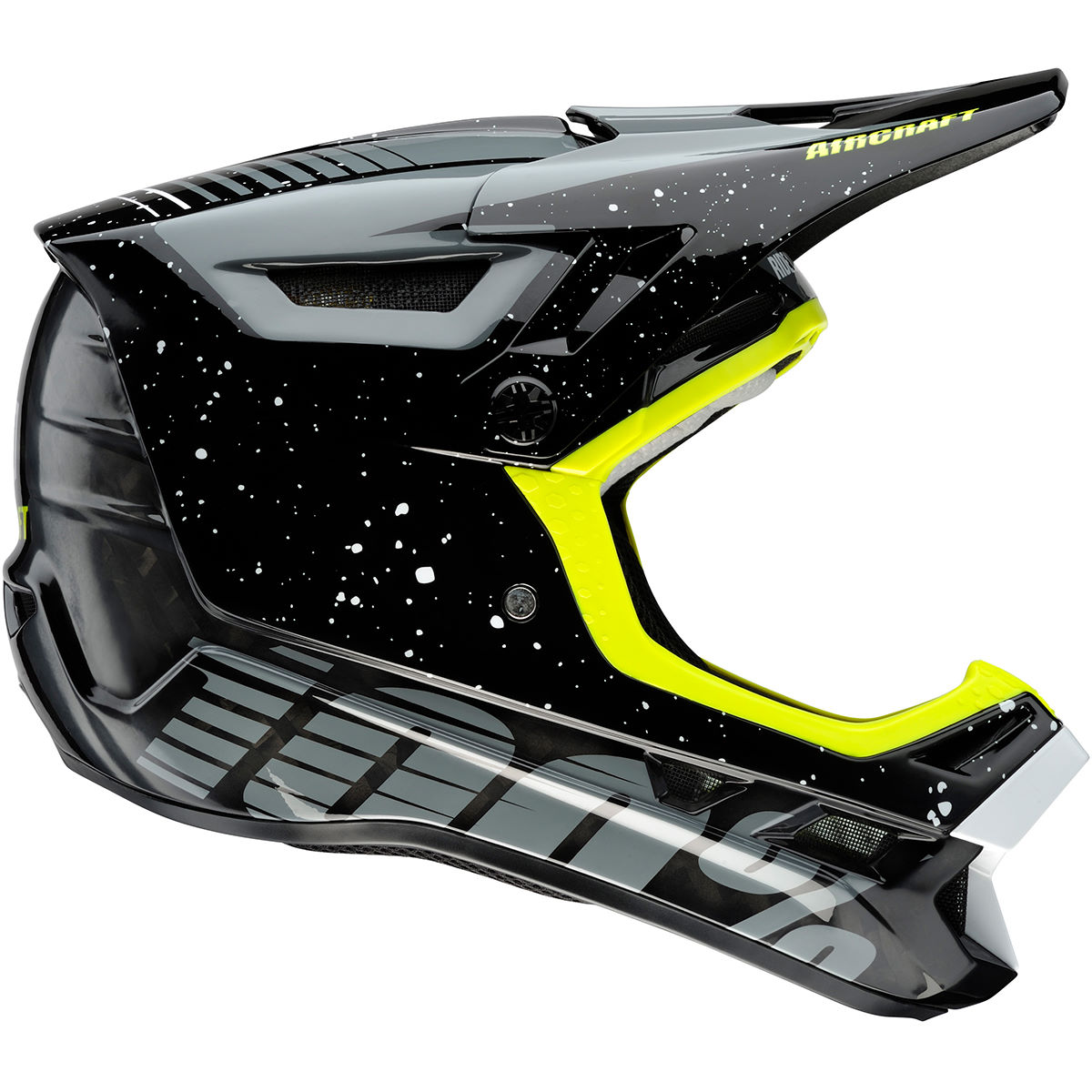 100% Aircraft MIPS Carbon DH/BMX Helmet (Hyperloop) - Cascos