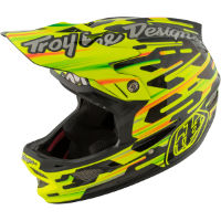 Troy Lee Designs D3 Carbon MIPS - Code Yellow