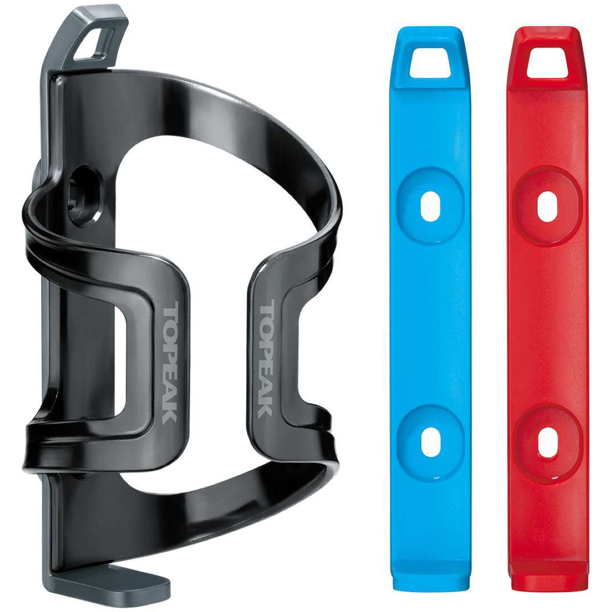 Porte-bidon Topeak Dualside Ex - Taille unique Grey - Blue - Red