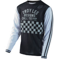 Troy Lee Designs Super Retro Check Radtrikot