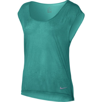 Nike Womens Breathe Short Sleeve Cool Top