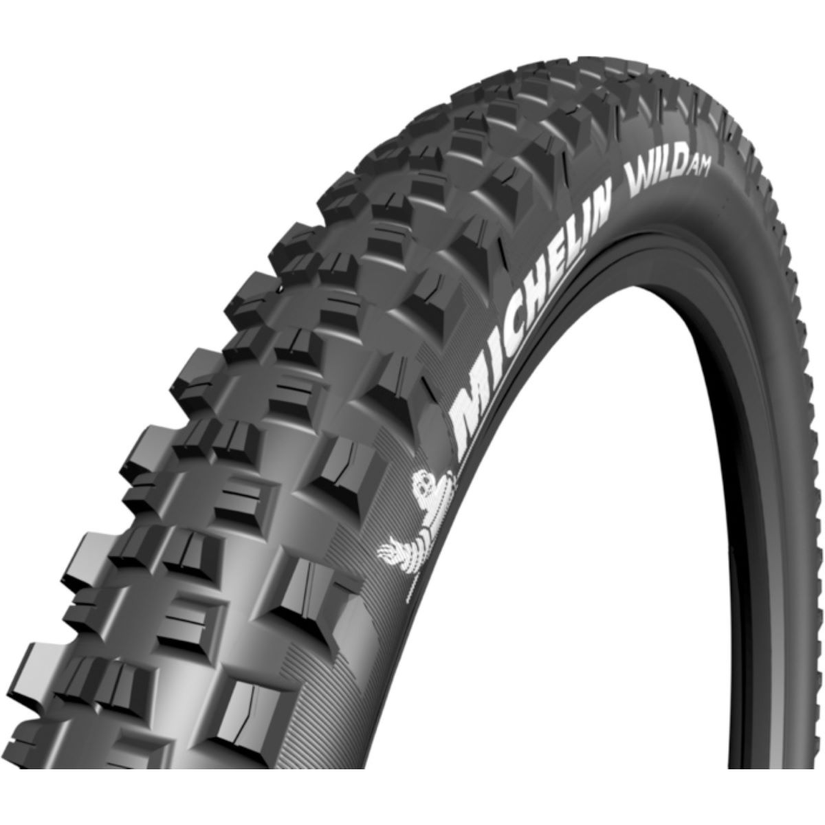 Pneu VTT Michelin Wild AM - 27.5' (650b) 2.35' F Noir