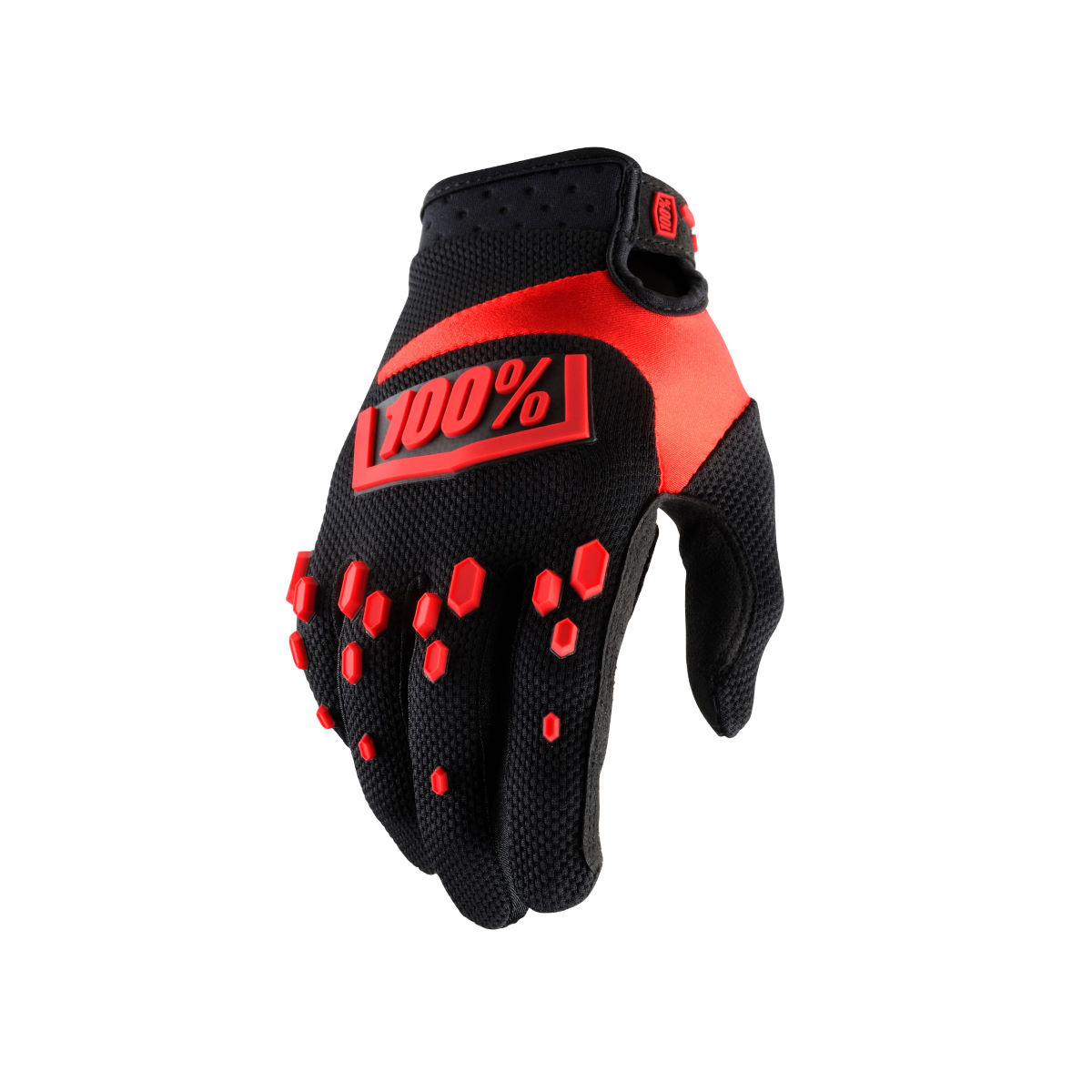 Gants 100% Airmatic - XL Black - Red Gants