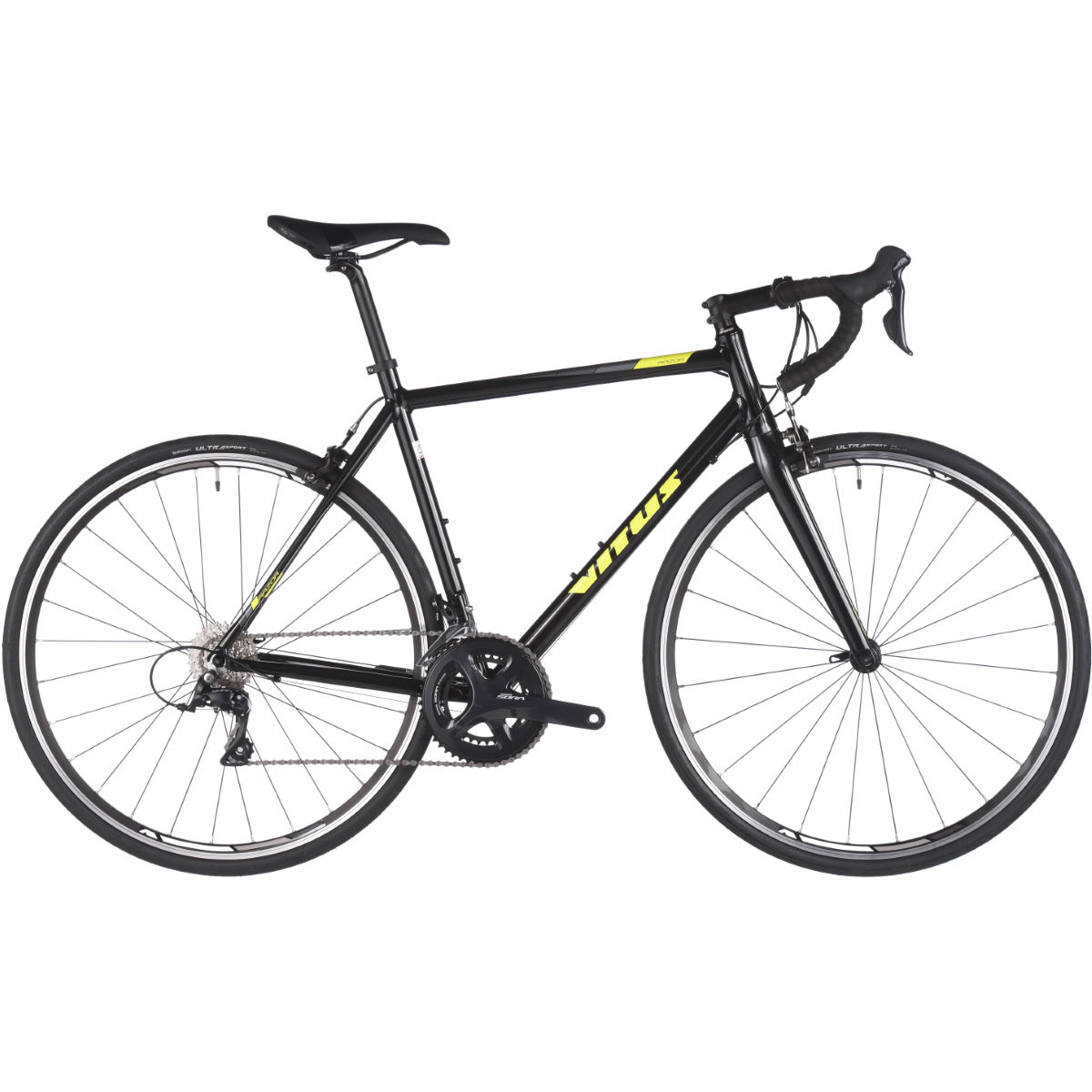 Vélo de route Vitus Razor VR - 60cm (23.75'') Black - Yellow