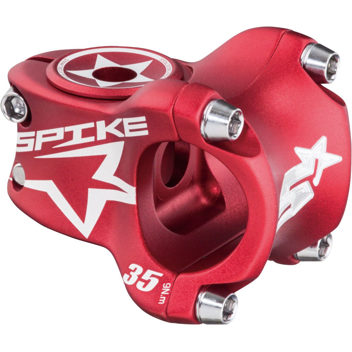 Potence Spank Spike Race - 50mm 31.8mm 1.1/8'' Rouge Potences