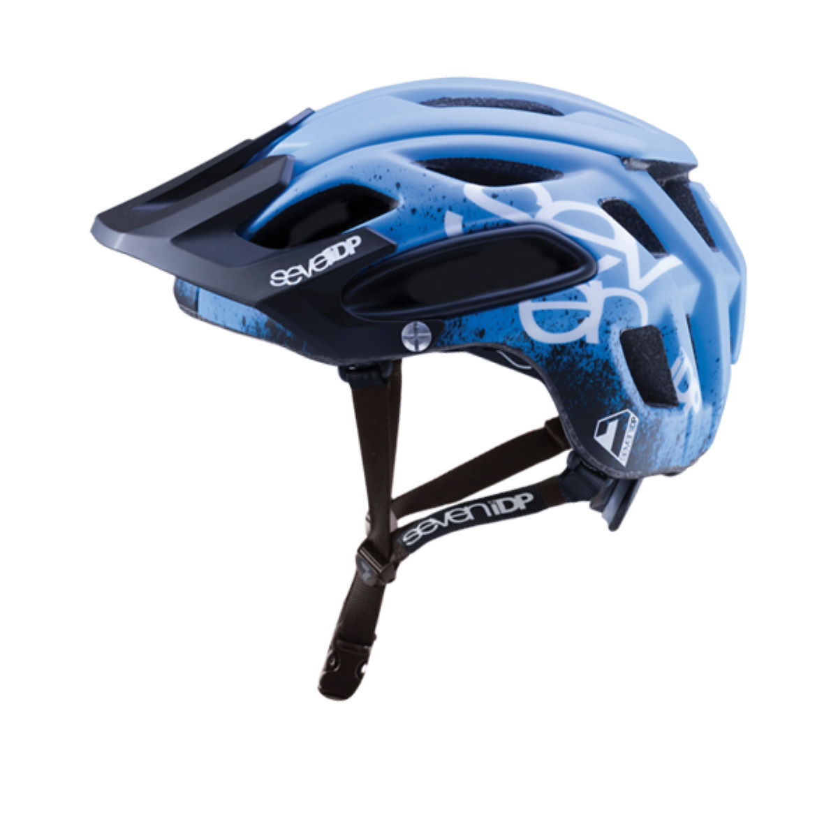 Casque 7 iDP M2 Gradient - XS/S Blue - Black - White Casques VTT