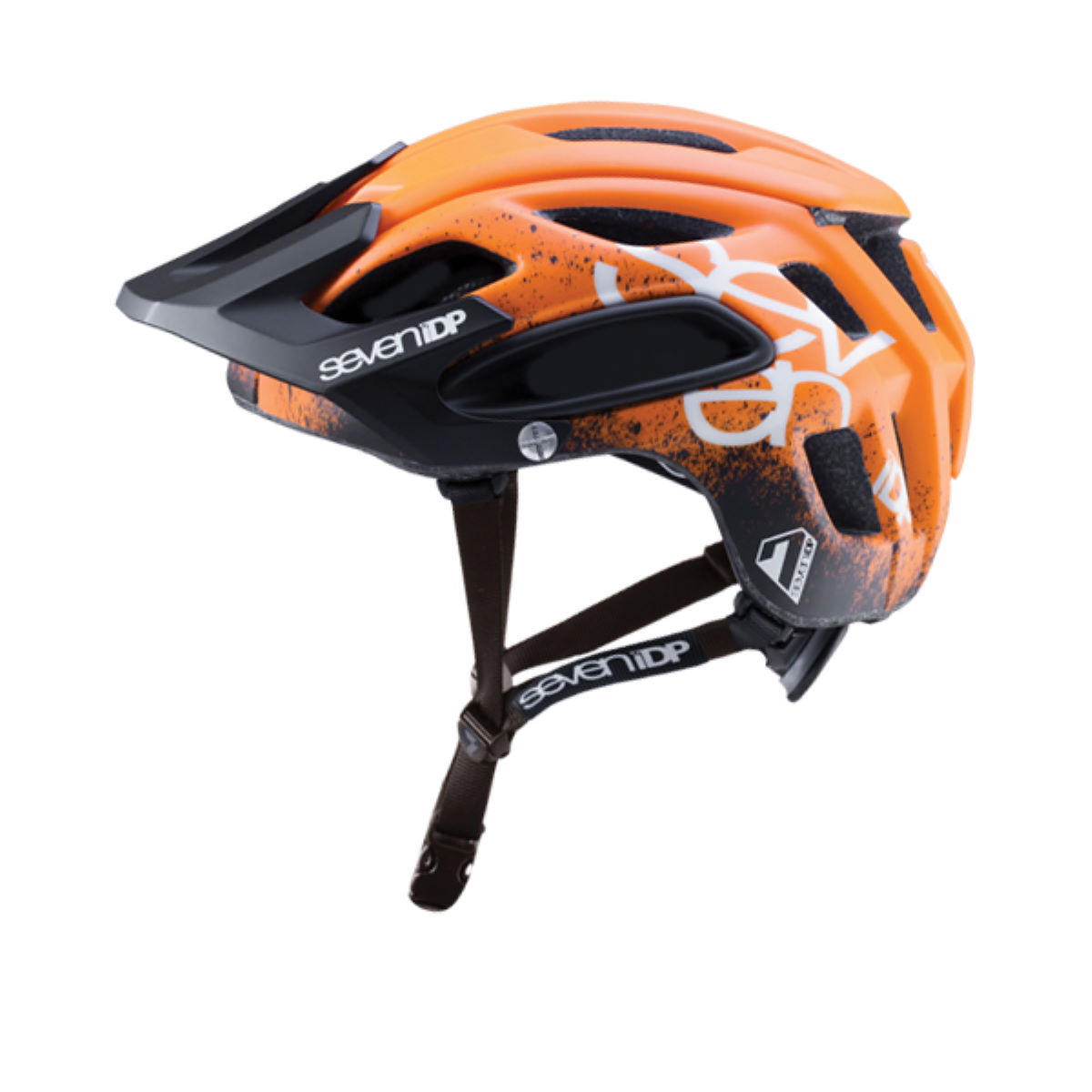 Casque 7 iDP M2 Gradient - XS/S Orange - Black - Whi Casques VTT