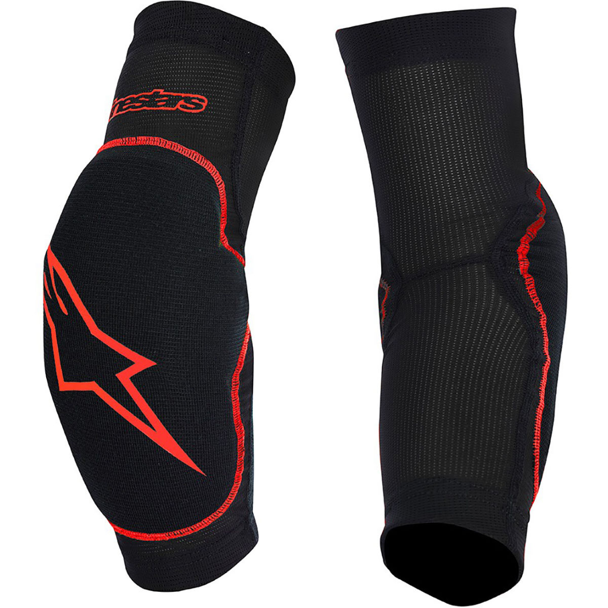 Protège-coudes Alpinestars Paragon - S Black - Red Protections