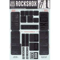 picture of RockShox Decal Kit 35mm - Dual Crown