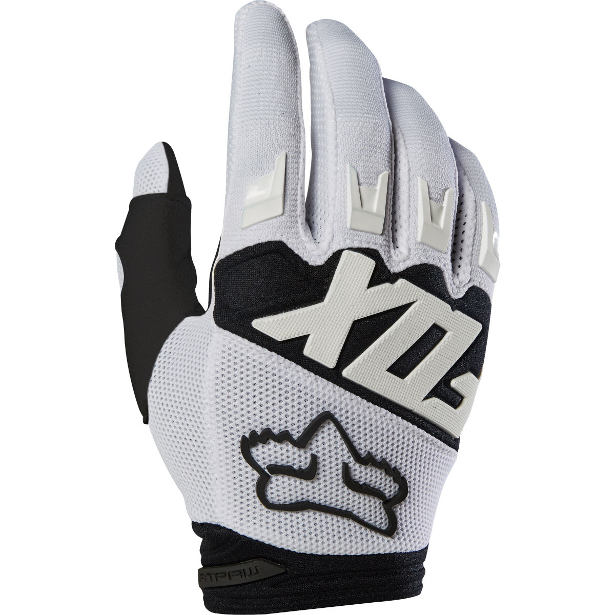 Gants Fox Racing Dirtpaw Race - S Blanc  Gants