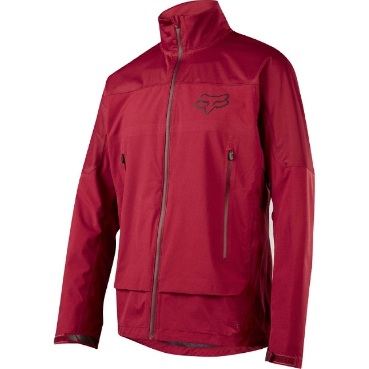 Veste Fox Racing Attack Water - S Dark Red Vestes imperméables vélo