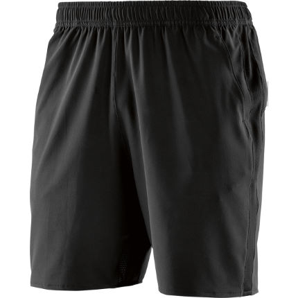 "SKINS Square 7"" Run Shorts Black M"
