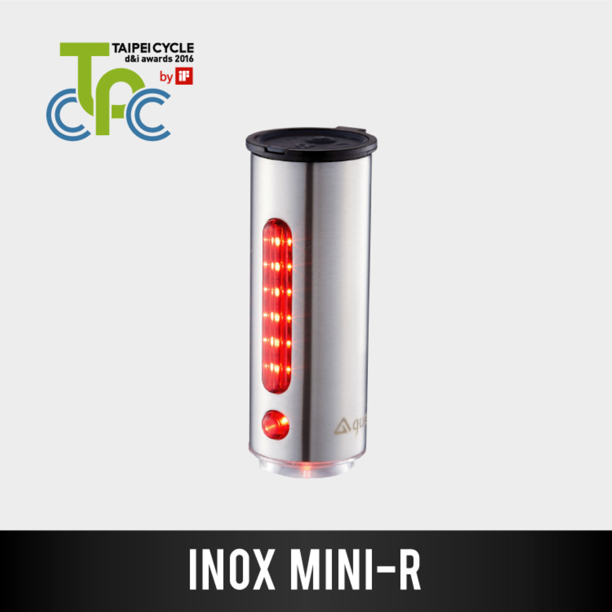 GUEE INOX Mini-R Rear Light - Luces traseras