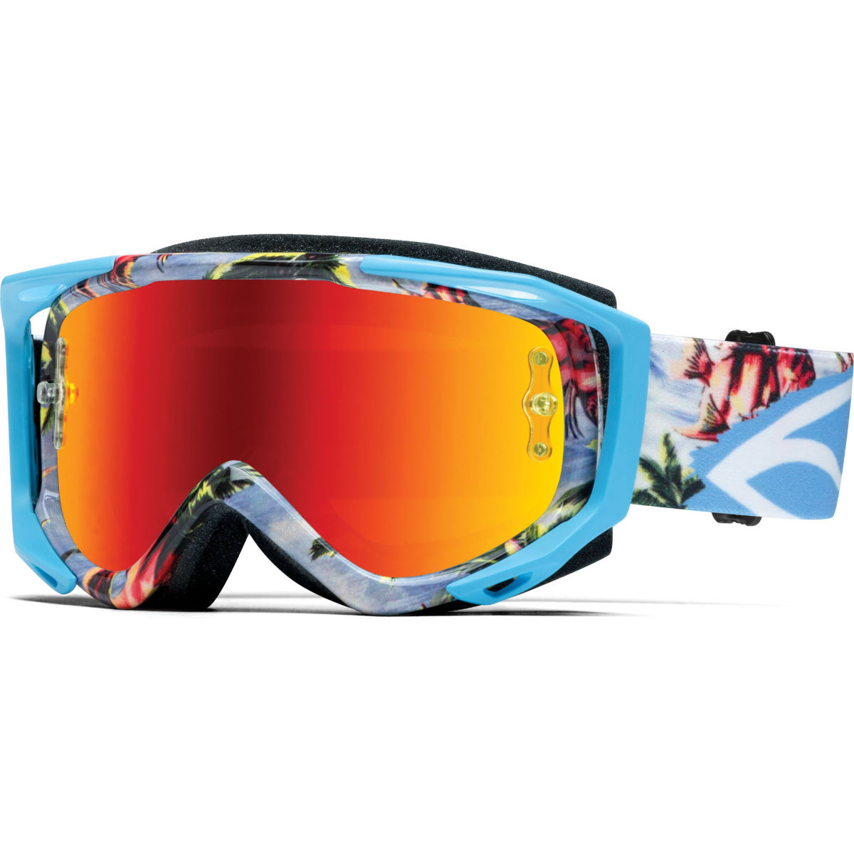 Masque Smith Fuel V.2 SW-X M - Taille unique Blue Burnout - Red M