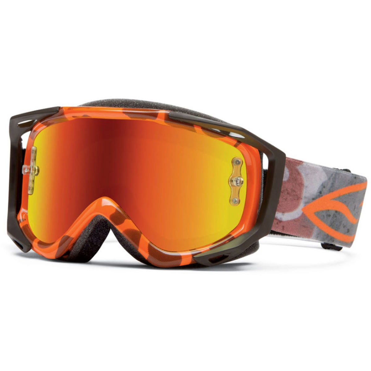Masque Smith Fuel V.2 SW-X M - Taille unique Orange Duck Camo - R