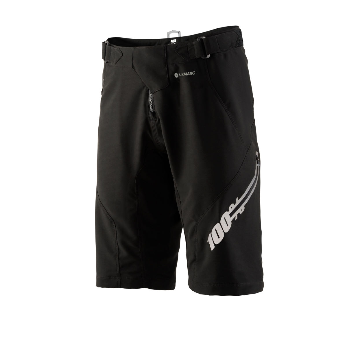 100% Airmatic Short - Forever Black - Bermudas