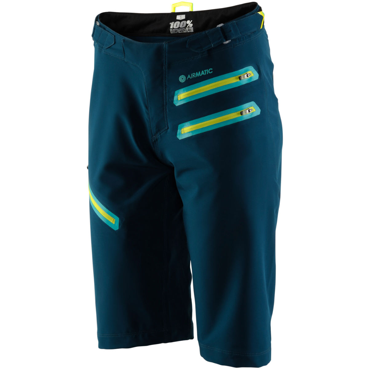 Short Femme 100% Airmatic - XL Forest Green Shorts VTT