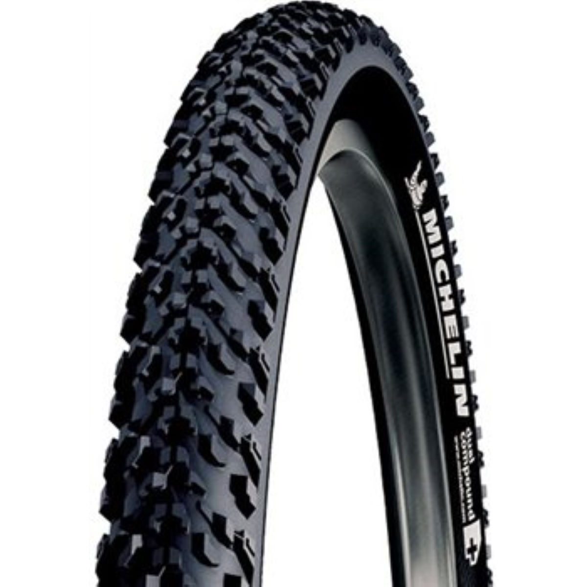 Pneu VTT Michelin Country Dry 2 - 26' 2.0' Wire Bead Noir Pneus VTT
