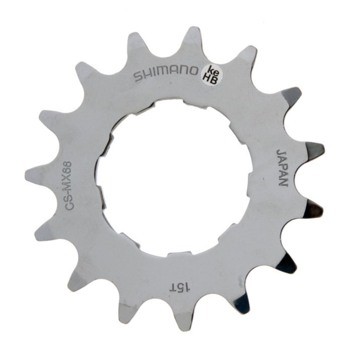 Pignon Shimano DX Single Speed - 15t Neutral Plateaux