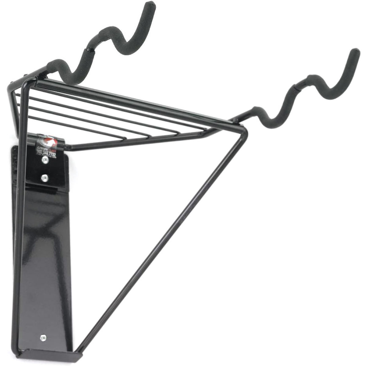Gear Up Off-the-Wall 2-Bike Horizontal Rack - Soportes para bicicleta