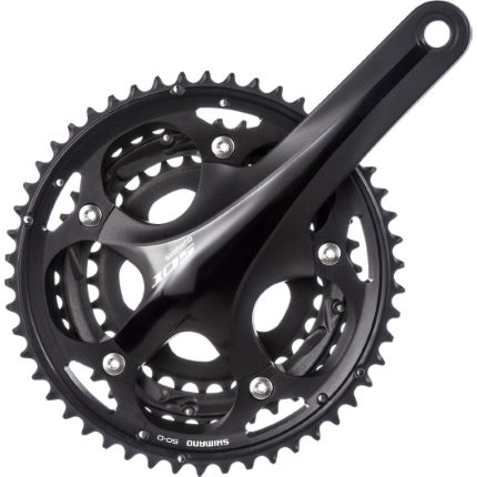 Shimano 105 5703 10 speed crankstel (triple)