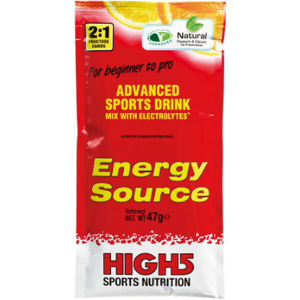 High5 Energy Source - 12 x 47g Powder Sachets