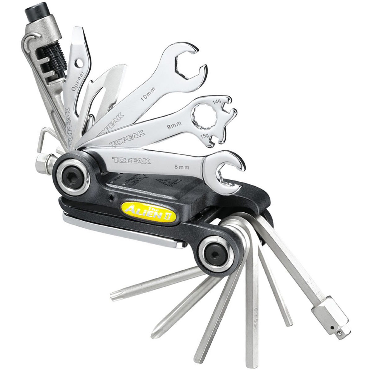 Topeak Alien II 31 Function Multi Tool Black/Black