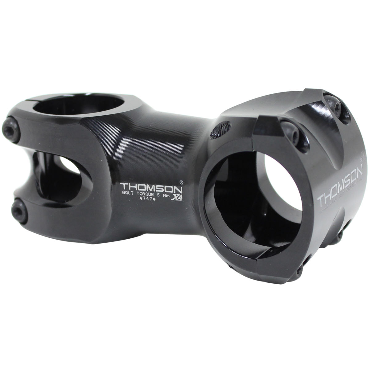 Potence VTT oversize Thomson Elite X4 - 50mm 6 Degrees Noir Potences