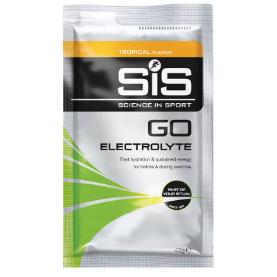 Science in Sport Caja de 18 sobres Science in Sport - GO Electrolyte (40 g) - Bebidas en polvo Tropical 18 x 40g 11-20
