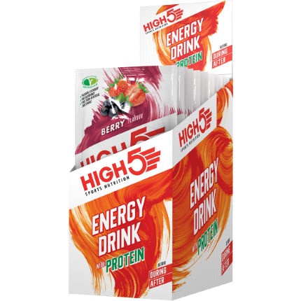 High5 Energy Drink with Protein Berry (12x47g)