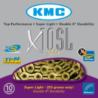 KMC X10-SL Gold 10 Speed Chain