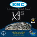 KMC X9-93 9 Speed Chain