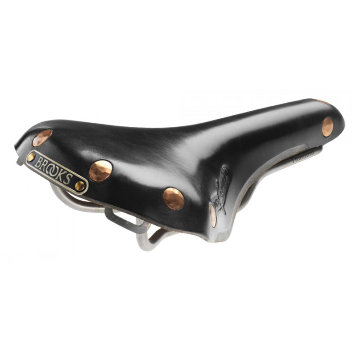 Selle Brooks Saddles Swift Titane - W 152mm Noir Selles performance