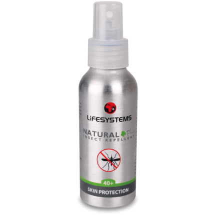 Lifesystems Expedition Natural 40 Plus Spray 100ml