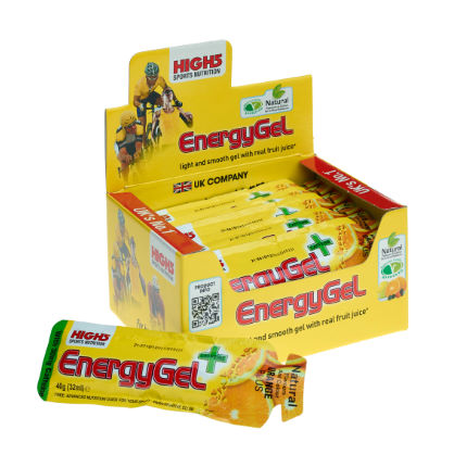 High5 Box Of 20 38g Energy Gel Plus Sachets