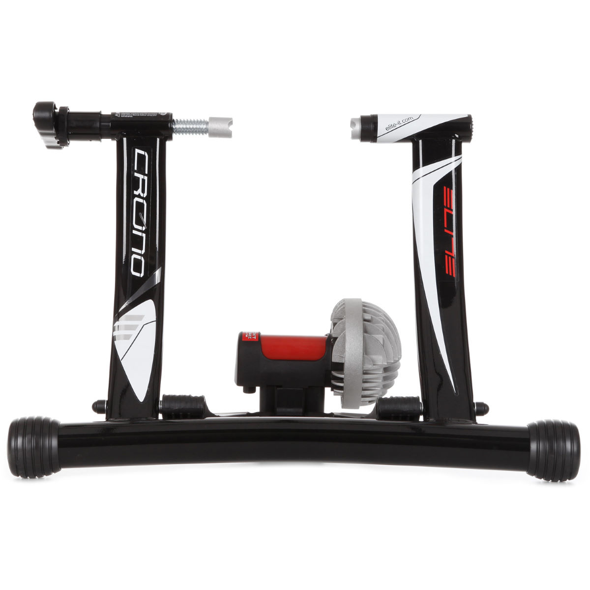 Home trainer Elite Crono Fluid ElastoGel - Taille unique Black/Red/Silver Home Trainer et rouleaux
