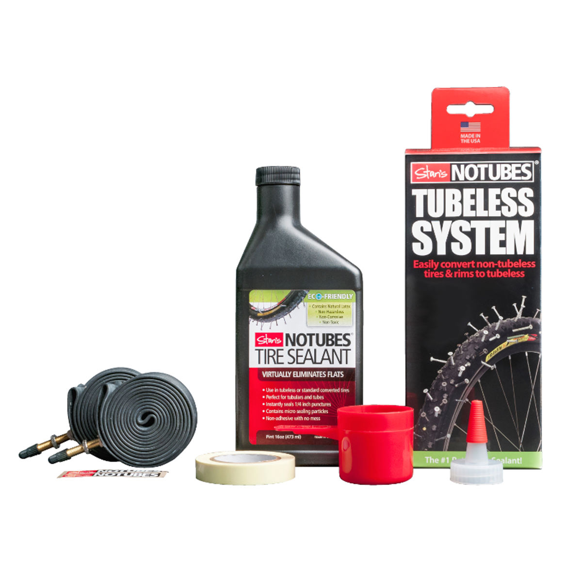 Kit tubeless Stans No Tubes - Flow Rim Only Noir