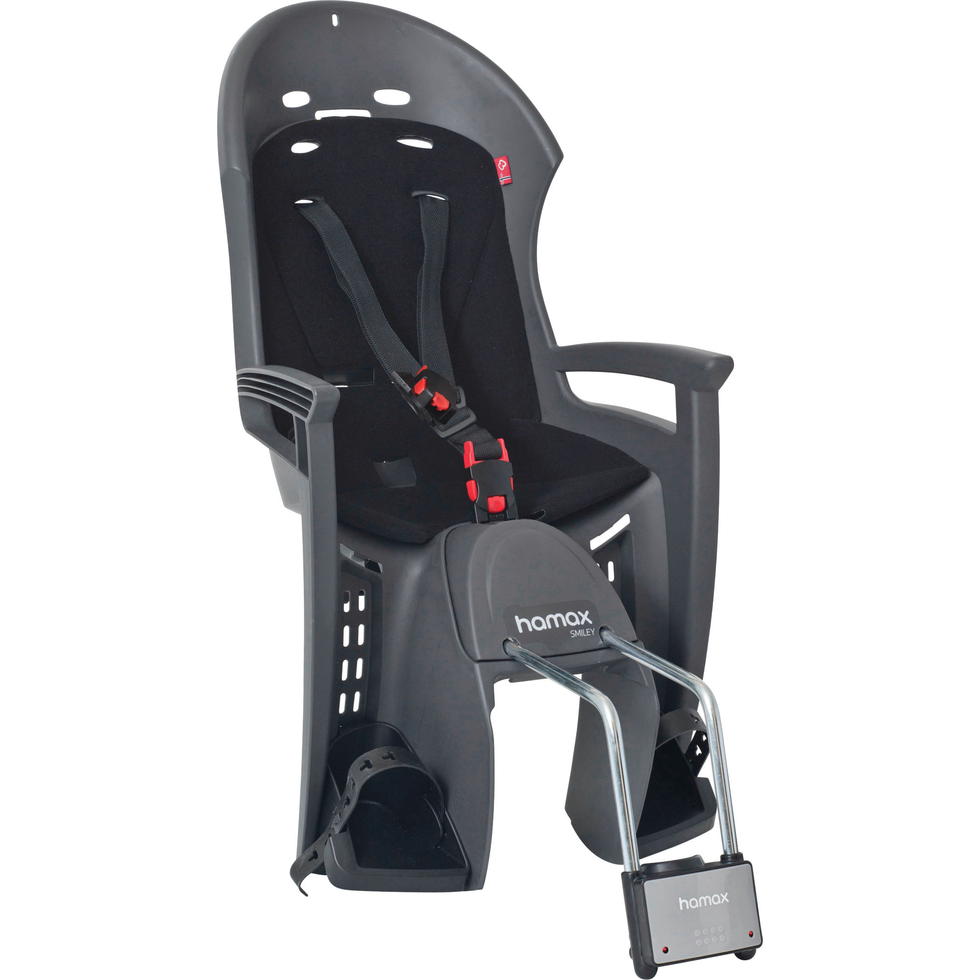 si ges enfant hamax smiley rear mounted child seat. Black Bedroom Furniture Sets. Home Design Ideas