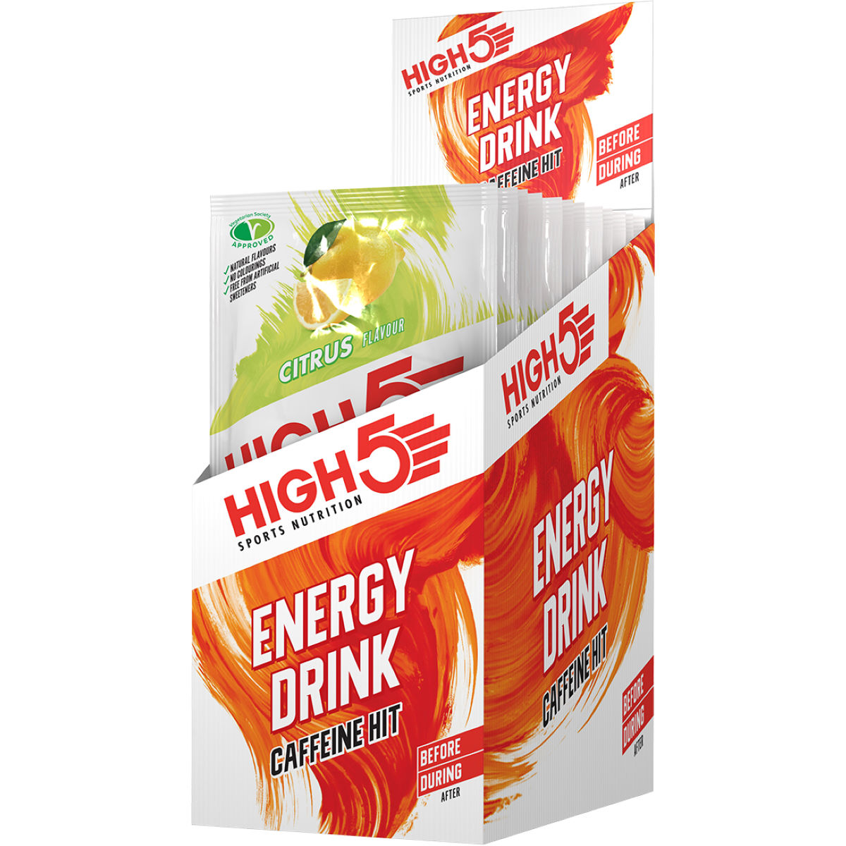 Sachets High5 Energy Source Xtreme (12 x 47 g) - 41-60g 11-20 Citrus