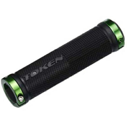 Token TK986GA Double Lock On Handlebar Grips