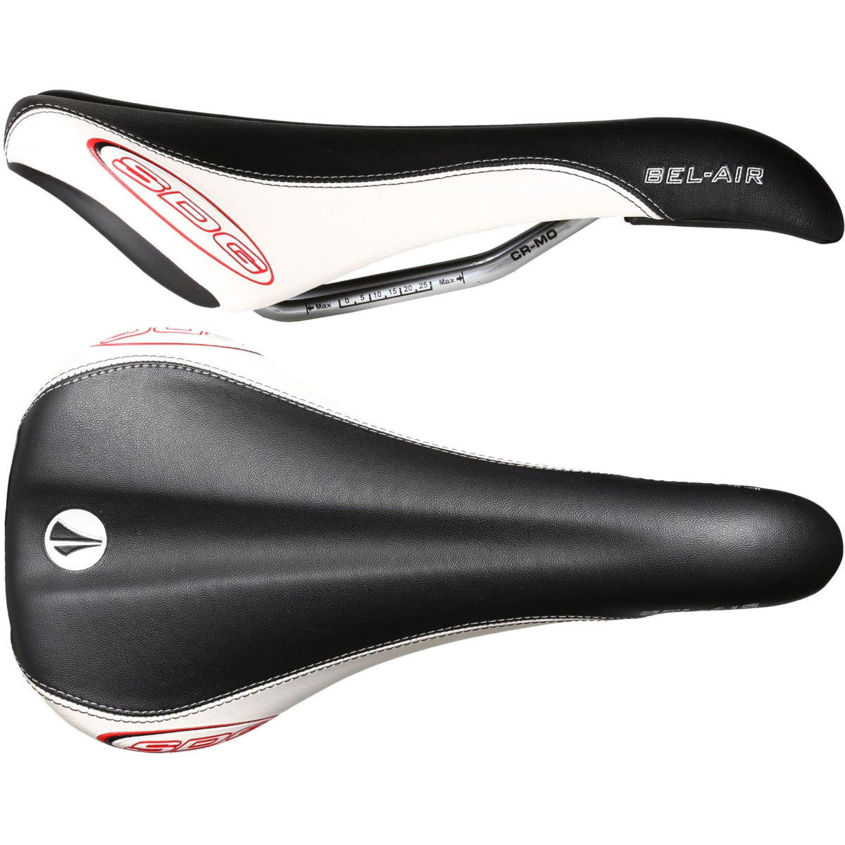 Selle SDG Bel Air RL (rails en chrome-molybdène) - Synthetic Leather