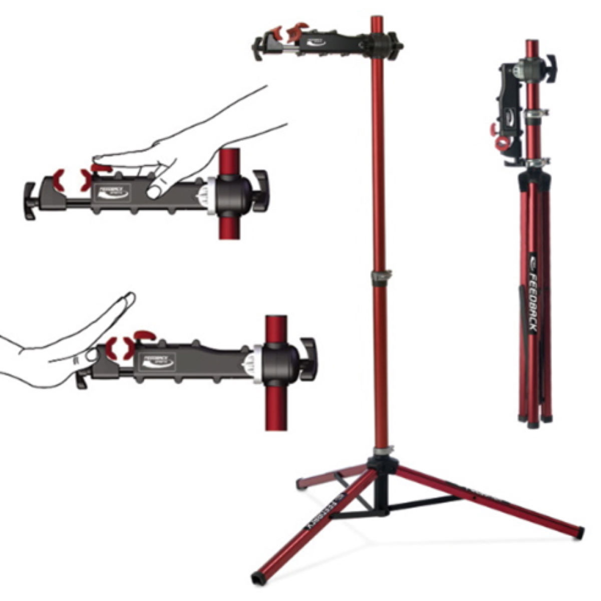 Feedback Sports Pro Elite Workstand - Caballetes de taller